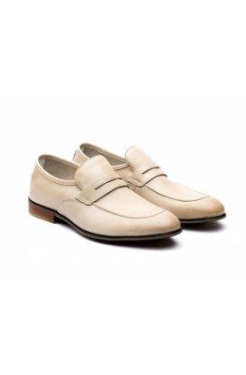 Туфли мужские Carlo Delari 7171223 цвет бежевый, кожа