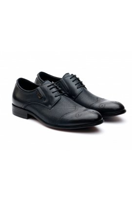 Туфли мужские Carlo Delari 7172068 цвет тёмно-синий