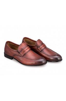 Туфли мужские комфорт Carlo Delari 7171224 цвет коричневый
