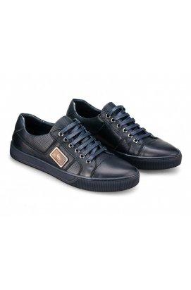 Туфли мужские Carlo Delari 7181129 цвет тёмно-синий