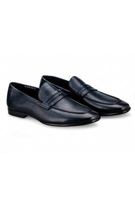Туфли мужские Clemento 7181333 цвет тёмно-синий, кожа