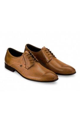Туфли мужские Carlo Delari 7182071 цвет коричневый, кожа