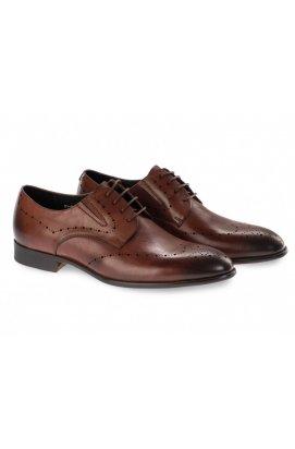 Туфли мужские Clemento 7191306 цвет коричневый