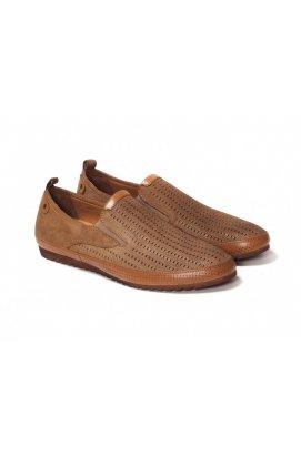 Мокасины мужские Roberto Paulo 7142563 цвет коричневый, кожа