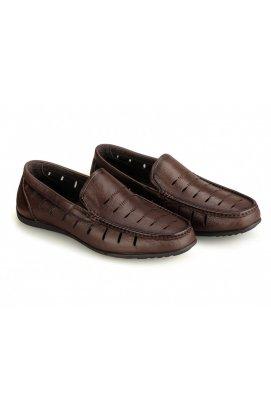 Мокасины мужские Clemento 7182325 цвет коричневый