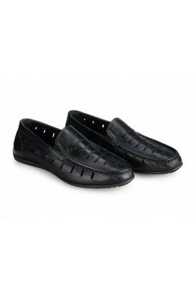 Мокасины мужские Clemento 7182323 цвет черный, кожа