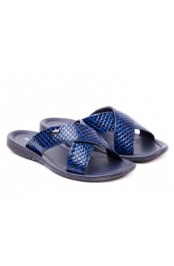 Шлёпанцы Battisto Lascari 7152909 цвет тёмно-синий