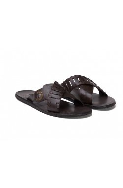 Шлёпанцы Brooman 7142260 цвет коричневый