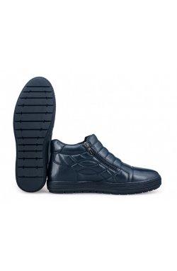 Ботинки комфорт Carlo Delari 7174067 цвет тёмно-синий