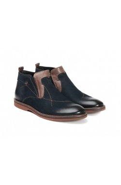 Ботинки Carlo Delari 7144102-Б цвет тёмно-синий