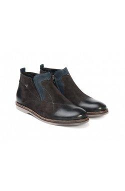 Ботинки Carlo Delari 7144101-Б цвет серый