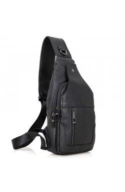 00362df3818f Модный рюкзак 4004A моношлейка из натуральной телячьей кожи John McDee ...