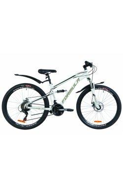 """Велосипед 26"""" Formula BLAZE DD 2019 (бело-черный)"""
