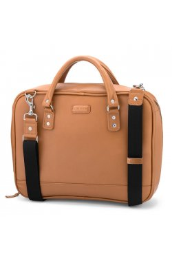 Мужская кожаная сумка-портфель для документов и ноутбука LB601 LIMARY