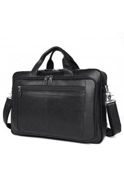 adcdb8c559f3 Вместительная мужская кожаная сумка для ноутбука JD7320A John McDee ...