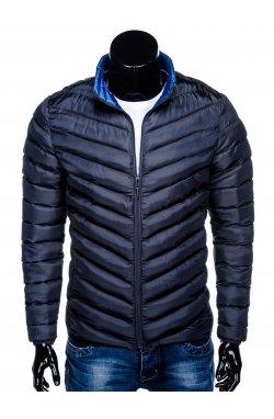 Куртка мужская демисезонная стеганая K344 - Синий