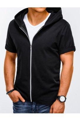 Свитшот мужской с короткими рукавами S960 - черный