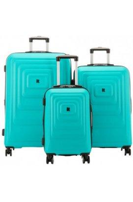 Набор чемоданов IT Luggage MESMERIZE/Aquamic IT16-2297-08-3N-S090
