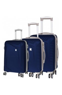 Набор чемоданов IT Luggage OUTLOOK/Dress Blues IT16-2325-08-3N-S754