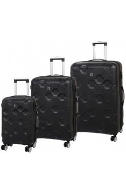 Набор чемоданов IT Luggage HEXA/Black IT16-2387-08-3N-S001