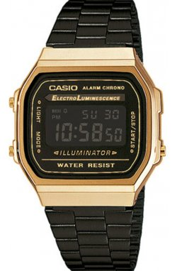 Часы Casio A168WEGB-1BEF мужские наручные Япония