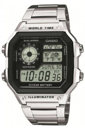 Часы Casio AE-1200WHD-1AVEF мужские наручные Япония