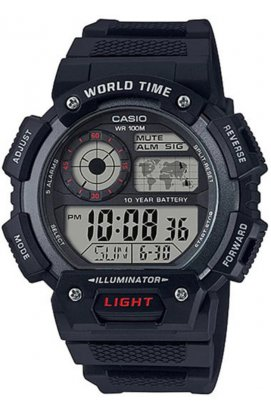 Часы Casio AE-1400WH-1AVEF мужские наручные Япония