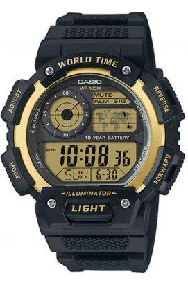 Часы Casio AE-1400WH-9AVEF мужские наручные Япония