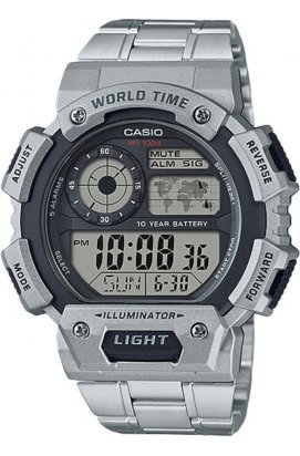 Часы Casio AE-1400WHD-1AVEF мужские наручные Япония