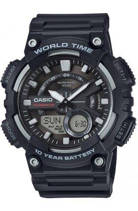 Часы Casio AEQ-110W-1A мужские наручные Япония