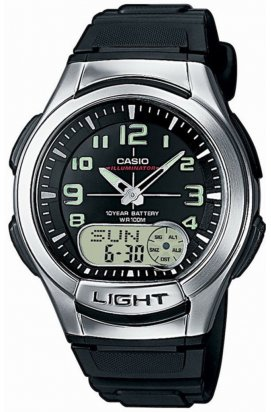 Часы Casio AQ-180W-1BVEF мужские наручные Япония