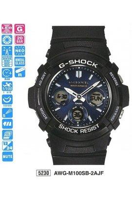 Часы Casio AWG-M100SB-2AER мужские наручные Япония