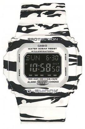 Часы Casio DW-D5600BW-7ER мужские наручные Япония