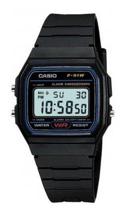 Часы Casio F-91W-1Q мужские наручные Япония