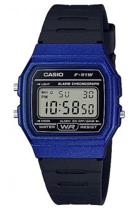 Часы Casio F-91WM-2A мужские наручные Япония