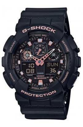 Часы Casio GA-100GBX-1A4ER мужские наручные Япония