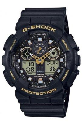 Часы Casio GA-100GBX-1A9ER мужские наручные Япония
