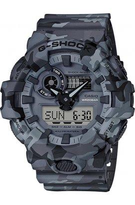Часы Casio GA-700CM-8AER мужские наручные Япония