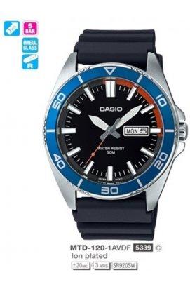 Часы Casio MTD-120-1AVDF мужские наручные Япония