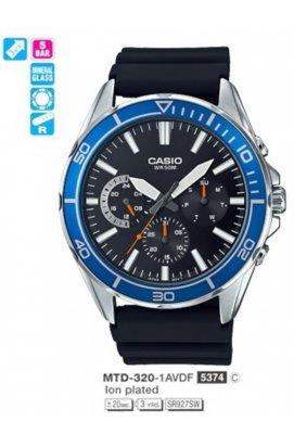 Часы Casio MTD-320-1A мужские наручные Япония