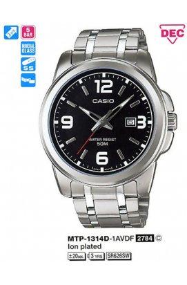 Часы Casio MTP-1314D-1AVDF мужские наручные Япония