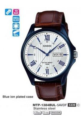 Часы Casio MTP-1384BUL-5A мужские наручные Япония