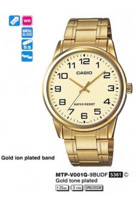 Часы Casio MTP-V001G-9B (А) мужские наручные Япония