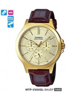 Часы Casio MTP-V300GL-9A мужские наручные Япония