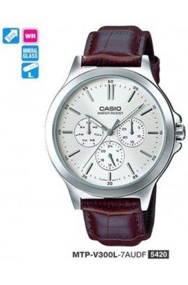 Часы Casio MTP-V300L-7A мужские наручные Япония