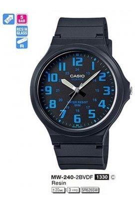Часы Casio MW-240-2B мужские наручные Япония