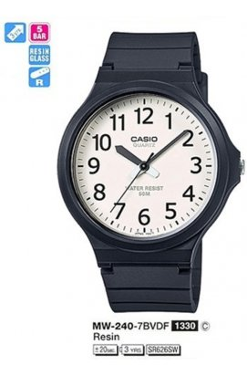 Часы Casio MW-240-7B мужские наручные Япония