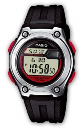 Часы Casio W-211-1BVEF мужские наручные Япония