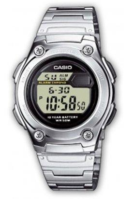 Часы Casio W-211D-1AVEF мужские наручные Япония