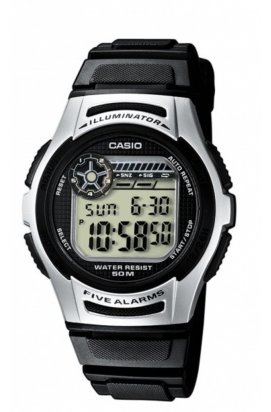 Часы Casio W-213-1AVEF мужские наручные Япония